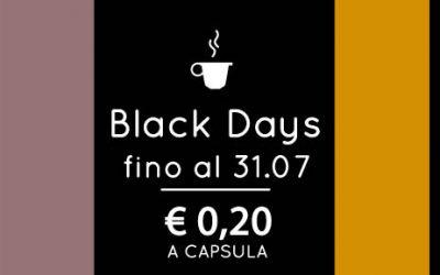 Capsule compatibili Nespresso: Black Days