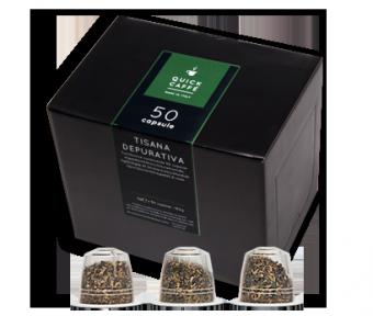 Confezione Capsule Tisana Depurativa Quick Caffè