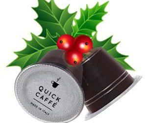 Offerta di Natale capsule compatibili Nespresso: € 0,19 con Quick Caffè