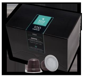 Quick Caffè Dek – Confezione 100 capsule compatibili Nespresso