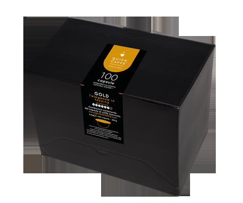 Gold capsule compatibili Caffitaly